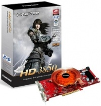 PowerColor Radeon HD 3850 PCS, 512MB, DDR3, fan, AGP