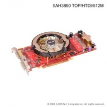 ASUS EAH3850 TOP/G/HTDI, 512MB DDR3, fan, PCIe