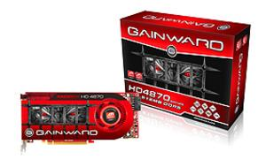 Gainward ATI HD4870 GldSmpl PCIe 512MB DDR5 775/4000MHz 2xDVI DP DualSlt-FAN