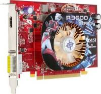 MSI R3650, 512MB DDR2, fan, HDMI, PCIe