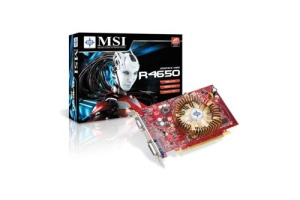 MSI R4650-D1G, 1GB DDR2, fan, PCIe