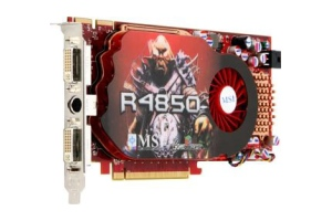 MSI R4850-T2D512, 512MB DDR3, fan, PCIe