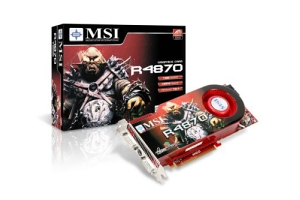 MSI R4870, 1024MB DDR5, fan, PCIe