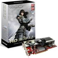 Powercolor Radeon HD3870 X2 PCS, 1GB, fan, PCIe