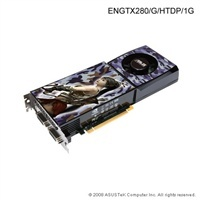 Asus ENGTX280/G/HTDP, 1024MB, fan, PCIe