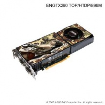 Asus ENGTX260 TOP HTDP, 896MB DDR3, fan, PCIe