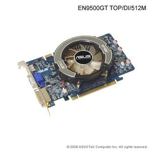 ASUS EN9500GT TOP/DI, 512MB, fan, PCIe