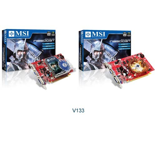 MSI N9500GT-MD512 512MB, PCI-E