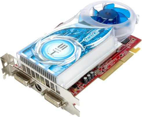HIS Excalibur Radeon X1650 XT IceQ Turbo, 256MB, AGP